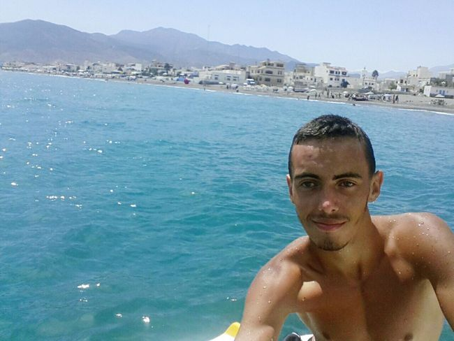 Summer ☀ Have A Nice Day♥ That's Me Hi! Blue Eyes Beach Swiming Time