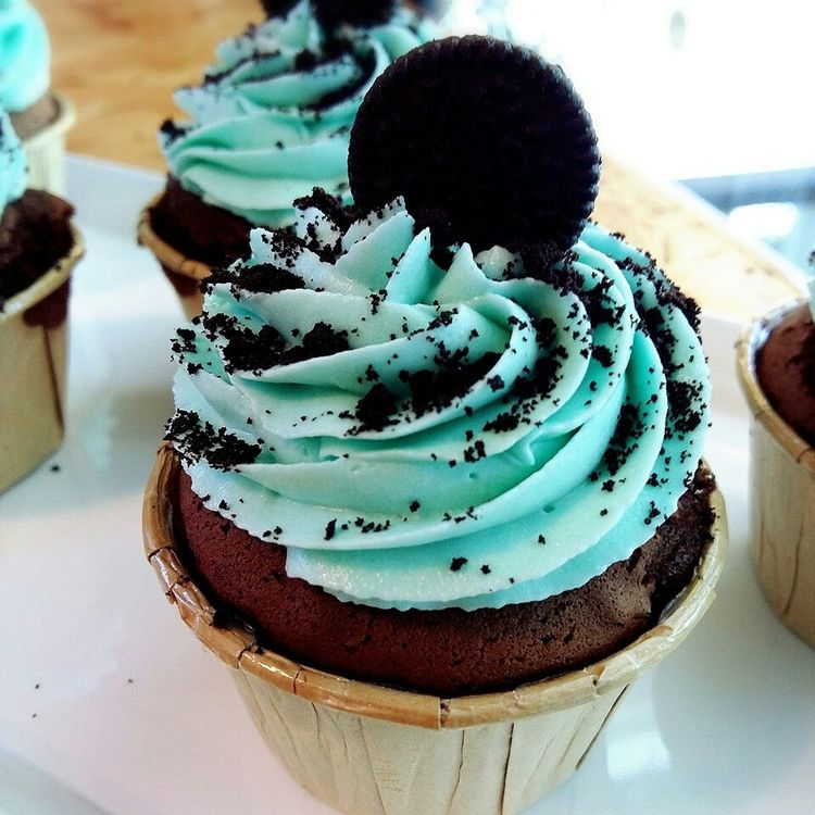 Oreo Cupcakes   made by me! 😊 my little happiness.😚😚😋😋