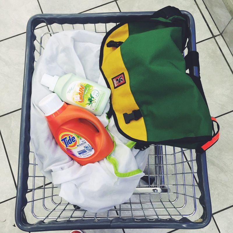 Laundry Laundrymat Cart NYC Messengerbag CHROME Bags