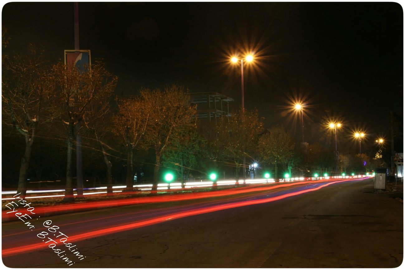 Iran♥ Iran آذربایجان شرقی شهر بناب تسلیمی Taslimi کانن700دی Night Canon700D Azarbayjan Bonab Lenz 18-55 City خیابان شب کانن
