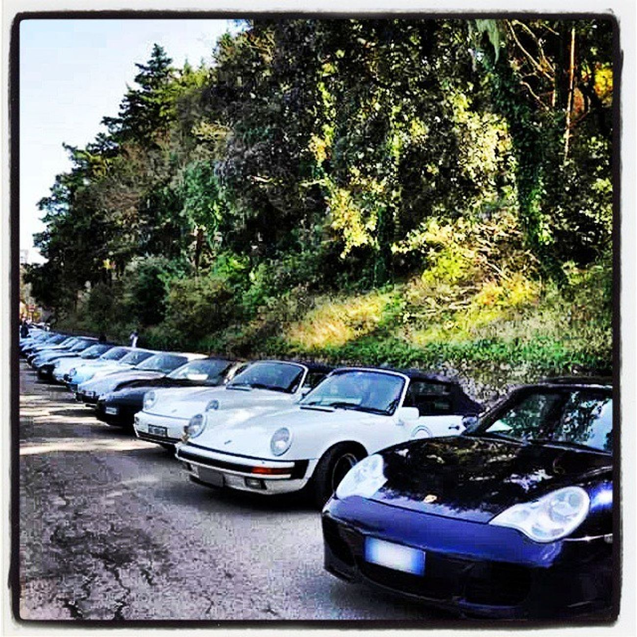 Sunday Morning with Dad Porscheclub Reunion  Italy