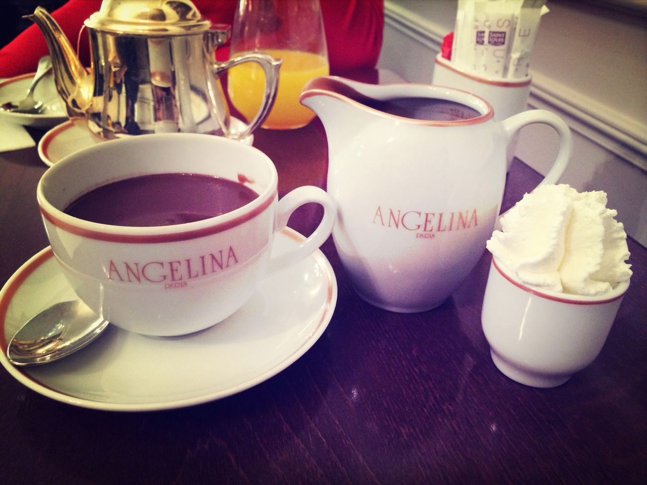 "Old fashioned hot chocolate ""l'africain"""