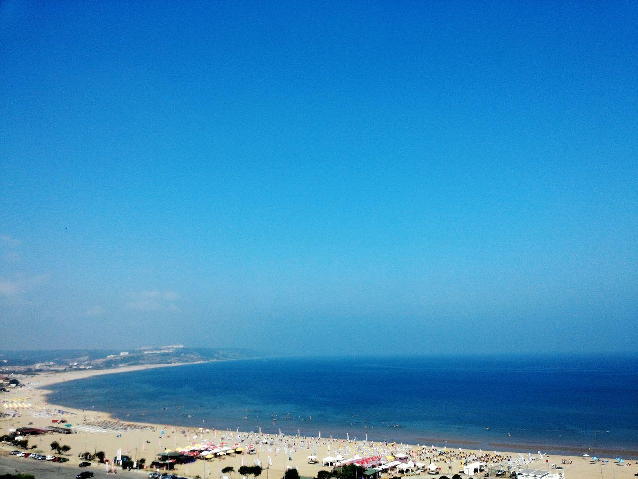 Şile Sahil çok Sıcak Sıcak Kumlardan Serin Sulara