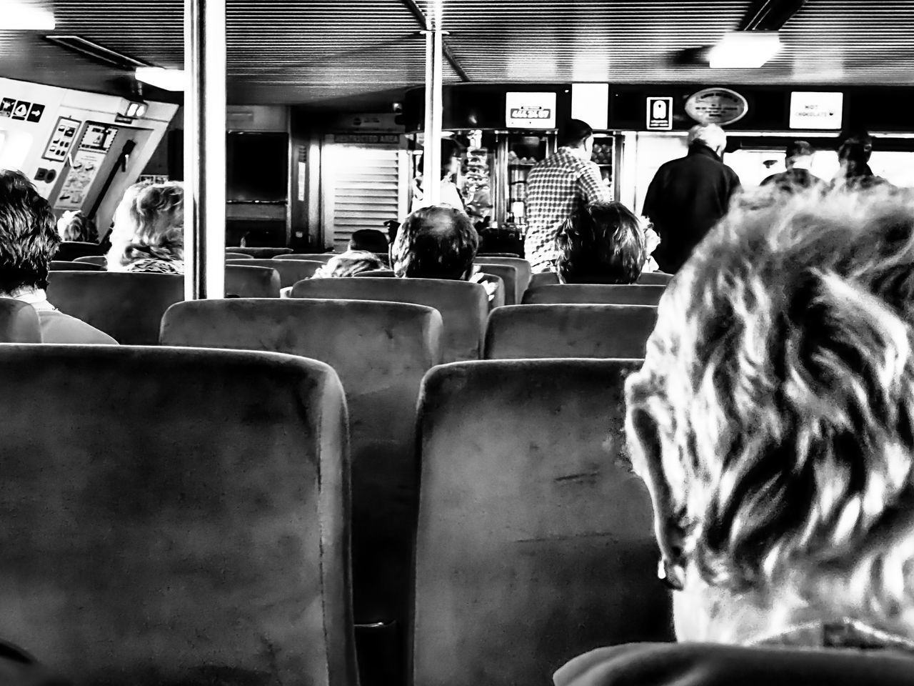 rhodes greek and izmir turkey Adult Day Indoors  Journey Land Vehicle Mode Of Transport Passenger People Public Transportation Rear View Train Interior Transportation Vehicle Interior Vehicle Seat