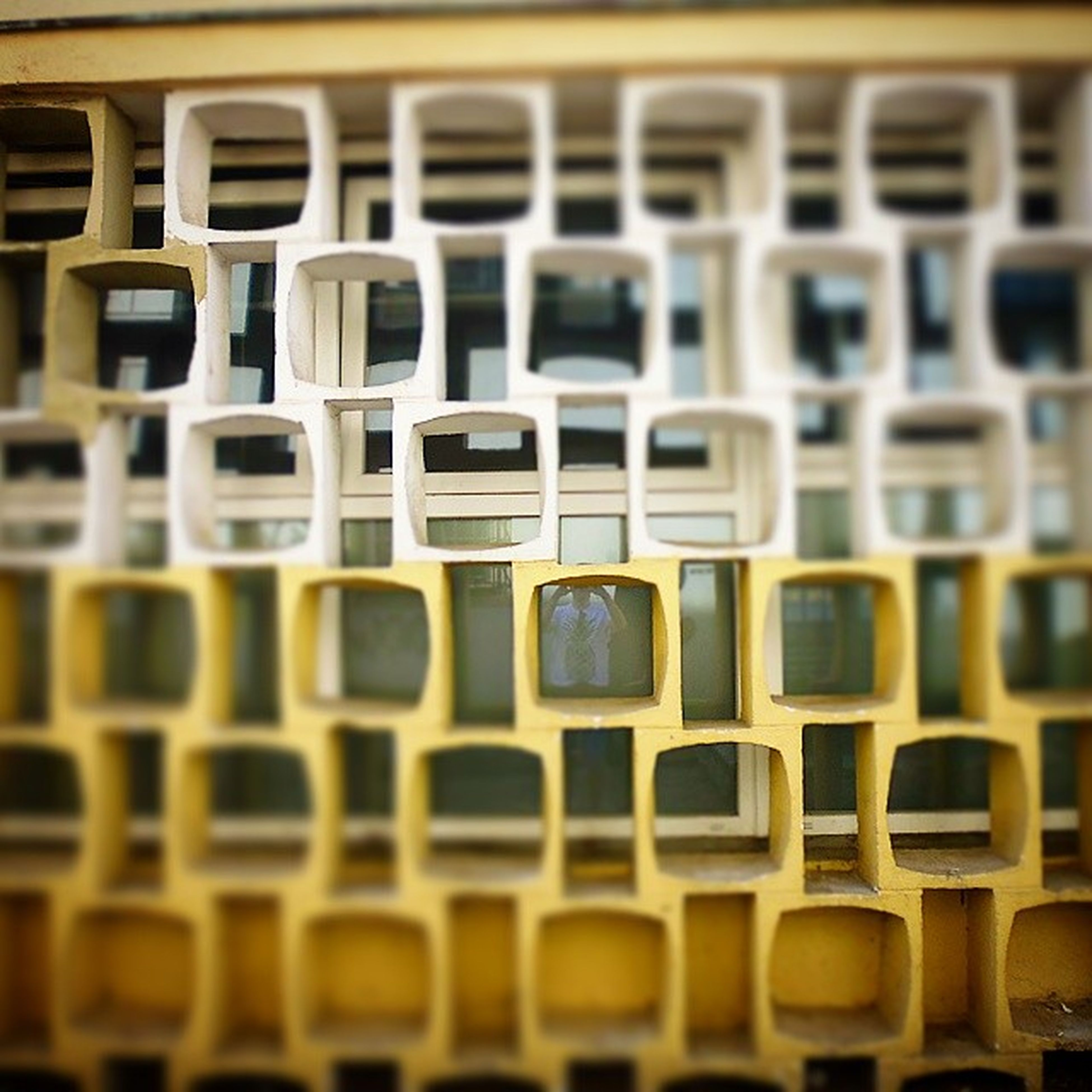 in a row, repetition, full frame, indoors, backgrounds, side by side, large group of objects, order, abundance, arrangement, pattern, no people, close-up, variation, selective focus, window, day, yellow, still life, illuminated