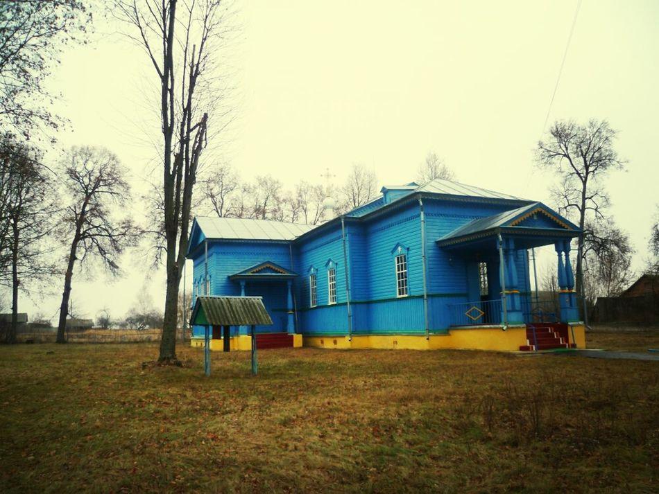 Допетровский храм в глубинке Вглубинке деревня храм Russia