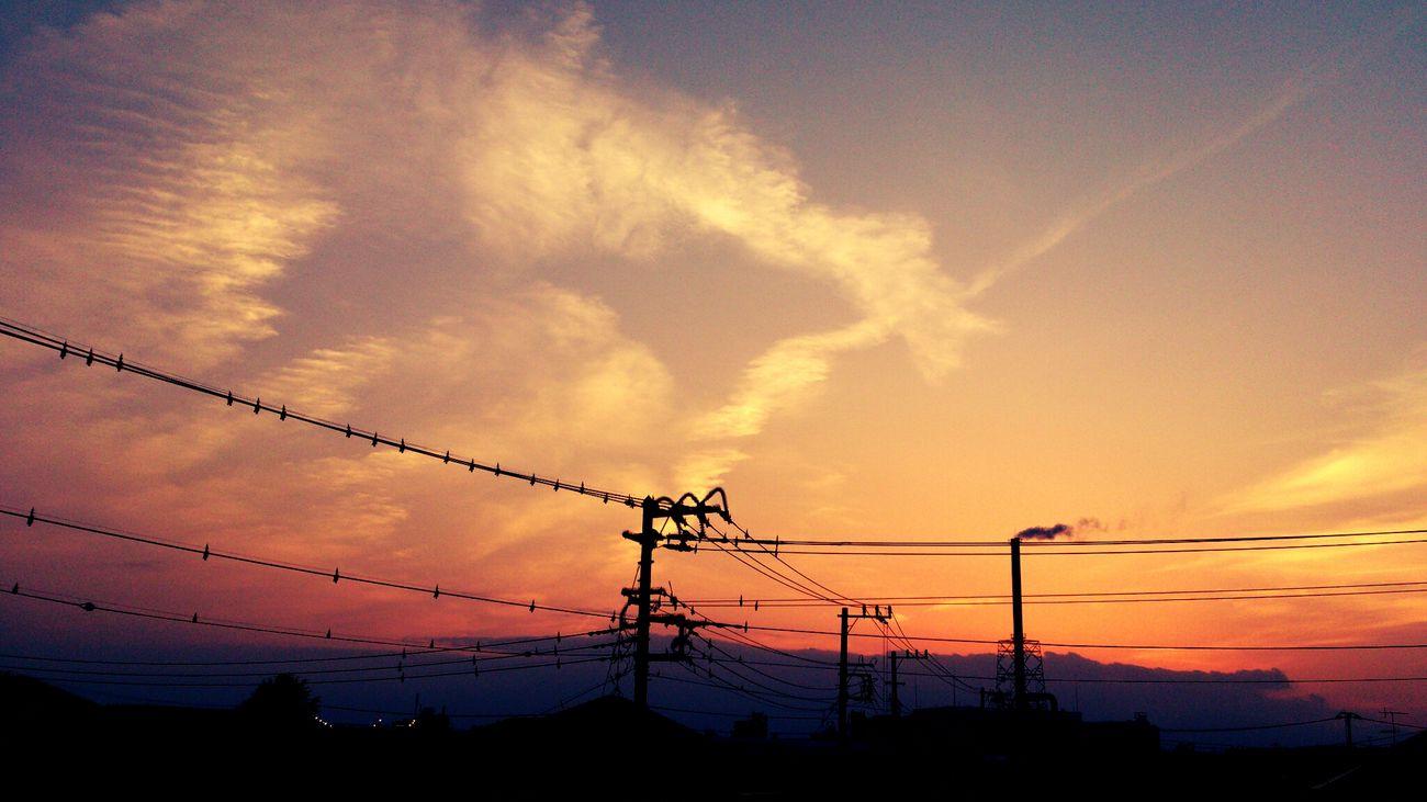 #sunset #sun #clouds #skylovers #sky #nature #beautifulinnature #naturalbeauty #photography #landscape Sky_collection Cloud_collection  Landscape_Collection