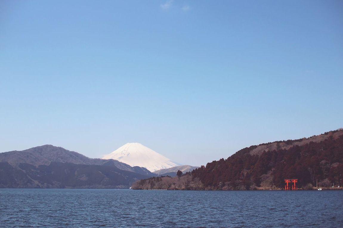 Fujisan Mont Fuji Shrine Japan Nature