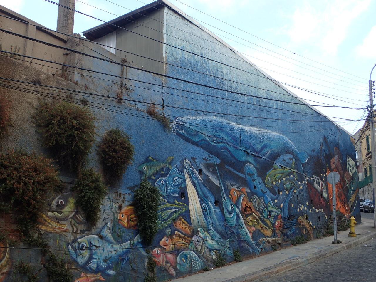 Streetart in Valparaiso, Chile