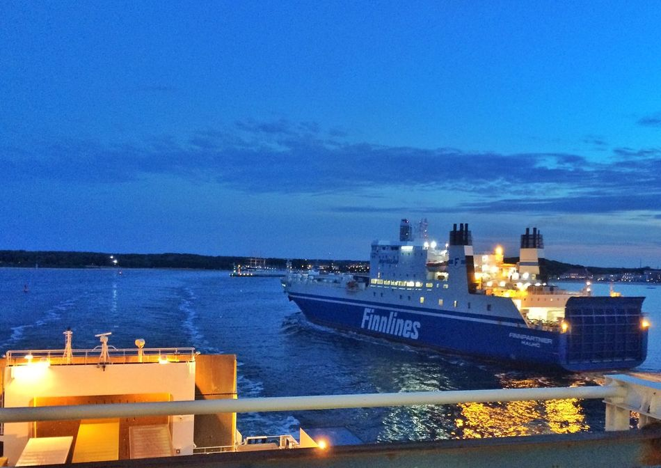 Ferry Leaving Holiday off to Bornholm Bornholm2015