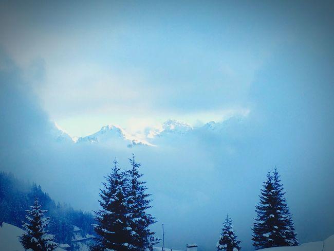 Short Slot in the Clous :-) Nature Skiing Austria