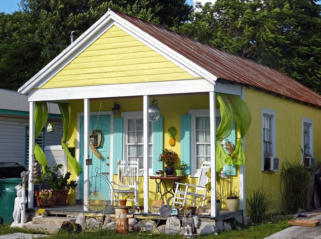 My sunshine house ;) House Houses Houses Of Key West Key West Homes Old Wooden House Streets Of Key West