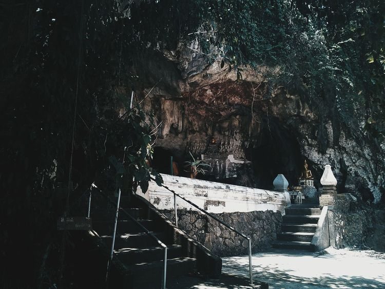 Amazing Thailand.. Measure Cave Travel Day Beauty In Nature