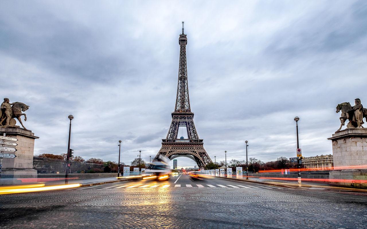 City Eiffel Eiffel Tower France French Long Exposure Paris Tower Urban Fresh On Market 2017
