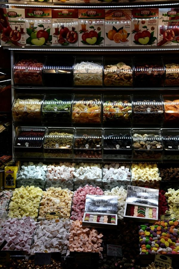 Kapalicarsi Turkey Istanbul Estambul Bazar De Las Especias