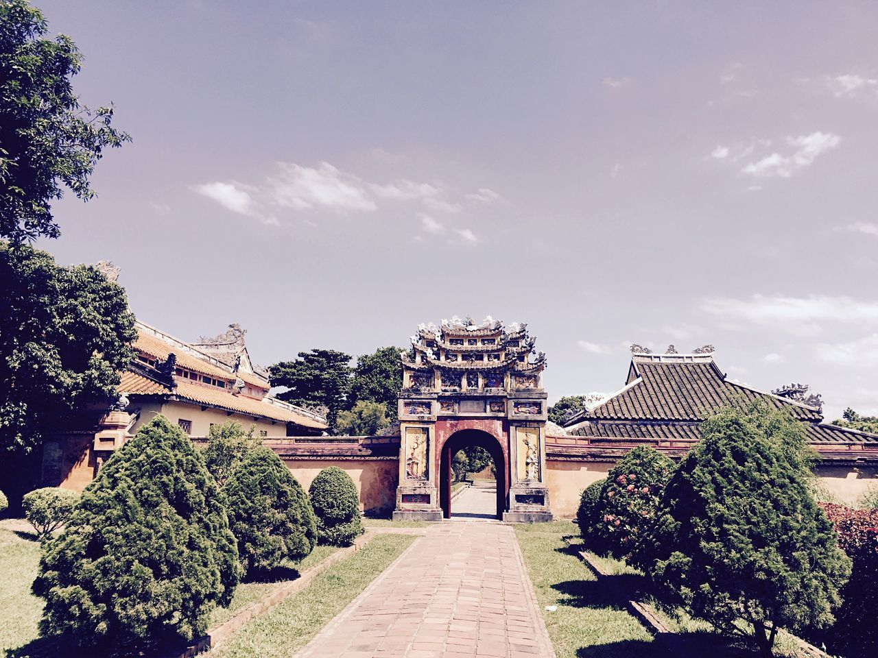 Beautiful stock photos of vietnam, Architecture, Archway, Building, Building Exterior