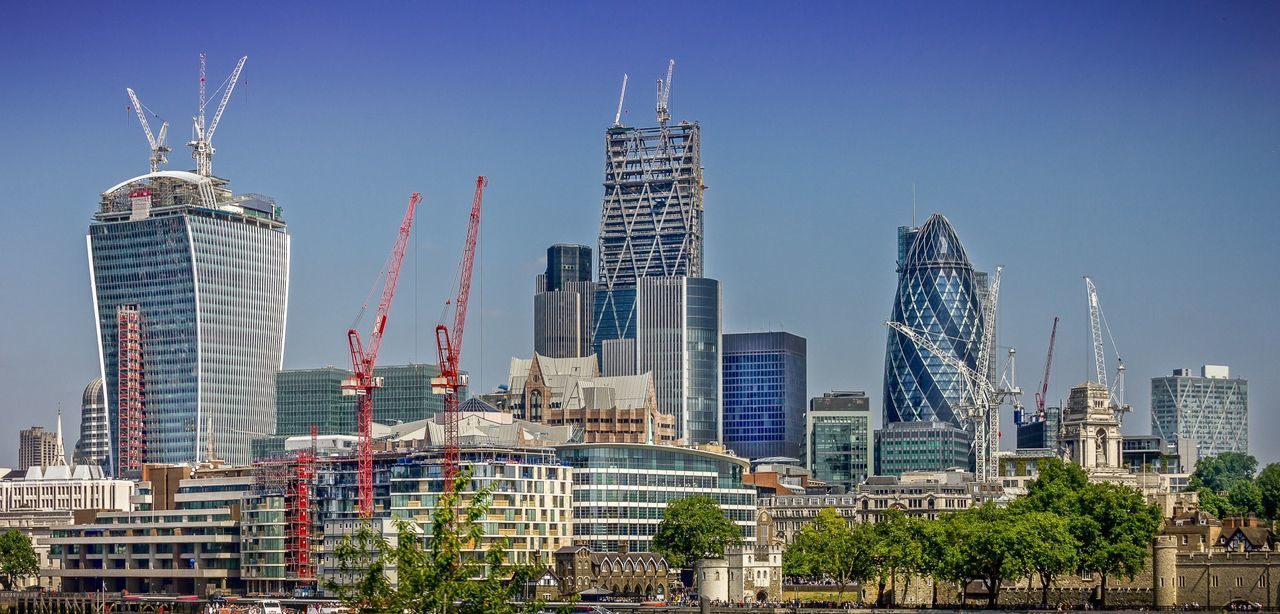 London England City Building