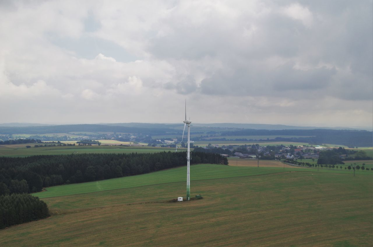 wind power generator in germany. Aerial Aerial Photography Aerial Shot Beauty In Nature Cityscape Climate Climate Change Cloud - Sky Day Energy Germany Green Grr Nature No People Outdoors Power Generation Power In Nature Power Plant Renewable Energy Sky Thuringia Wind Wind Turbine Windpower