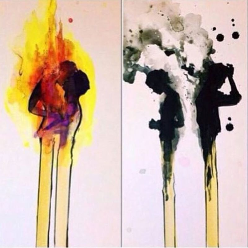 We were a perfect match. Maybe that's why we burnt out. Beautiful Life Relationships LoveIsHard