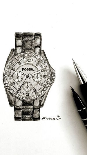 Art ArtWork Artbyviviansarah Artist Fossil Fossilwatch