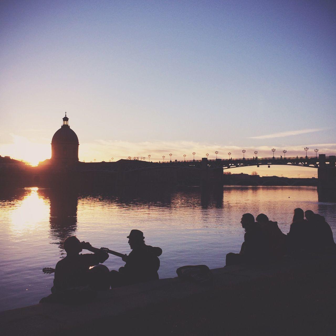 Late afternoon, Toulouse, France Sunset Silhouettes The Illuminator - 2014 EyeEm Awards The Explorer - 2014 EyeEm Awards