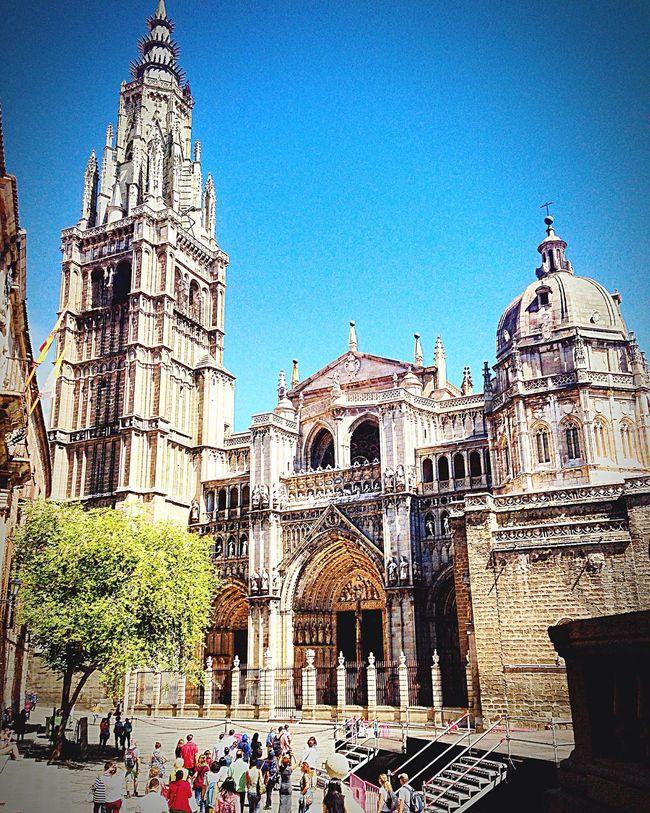 Gezgin İspanya'da Toledo Spain