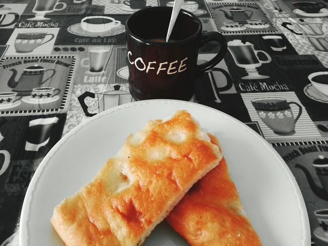 Coffee At Home Mornings Breakfast Focaccia Coffee Espresso Decaf Coffee Taking Photos Photographs Goodmorning World