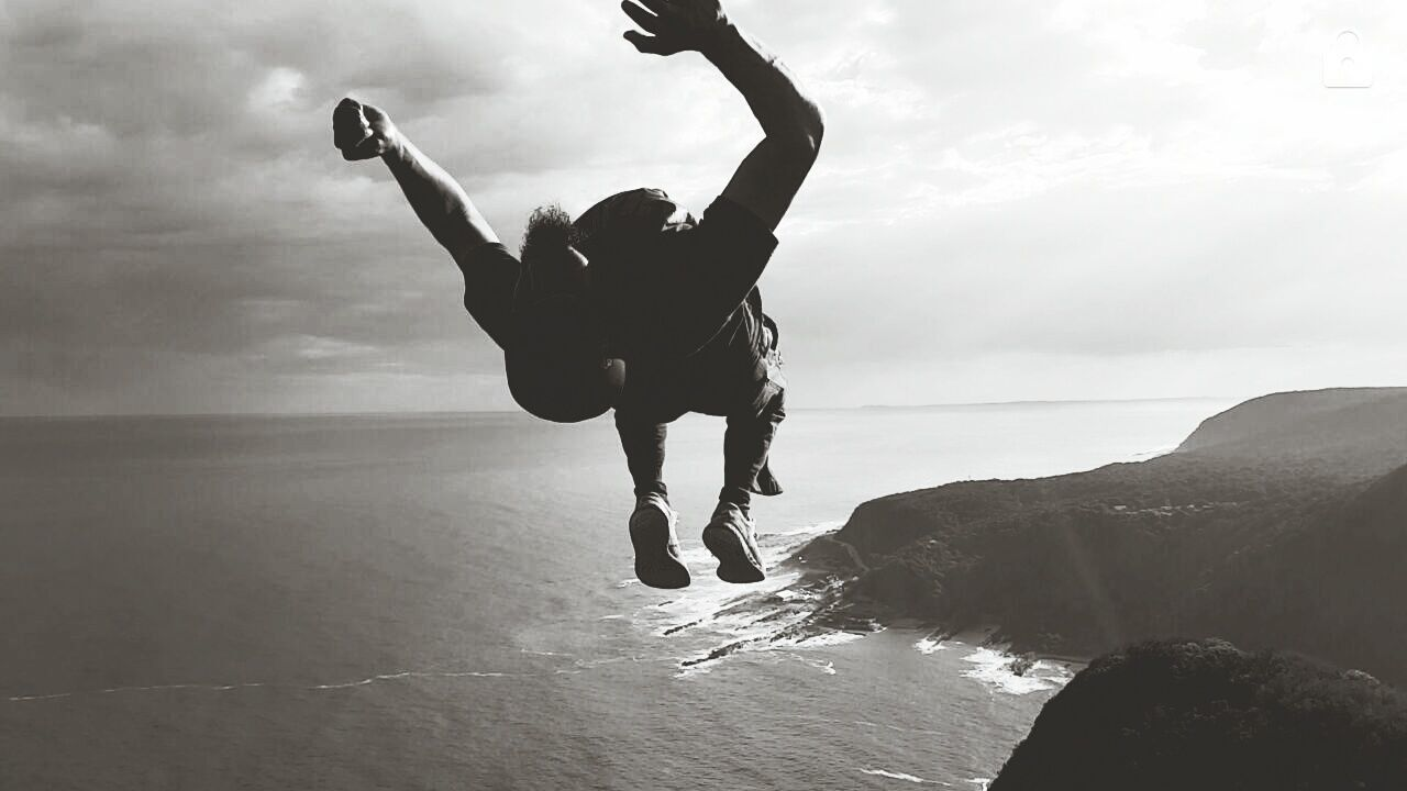 The journey to the to of the lookout point on the to of the national park has been a memorable one, a backflip to top it off... South Africa Tsitsikamma Mouth Outdoors Beautiful Nature Coast Serenity Exotic Escapes Tranquility Travel Destinations Beauty In Nature Transition Ecstasy Backflip Landscape Aerial View