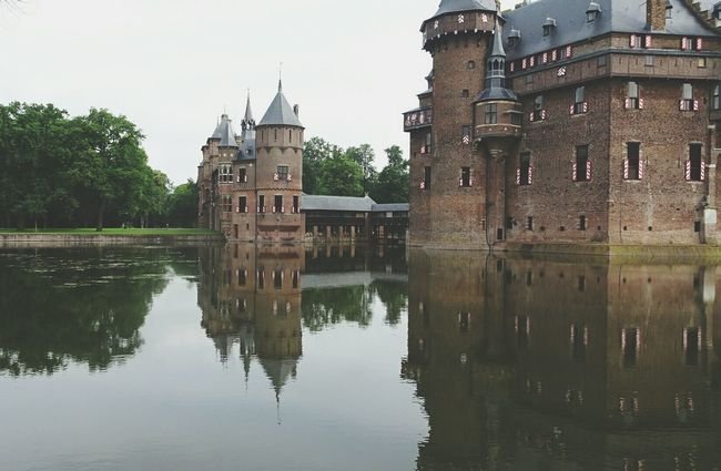 Reflections In The Water Beautiful Castle historical building Check This Out Taking Photos EyeEm Nature Lover Castle De Haar