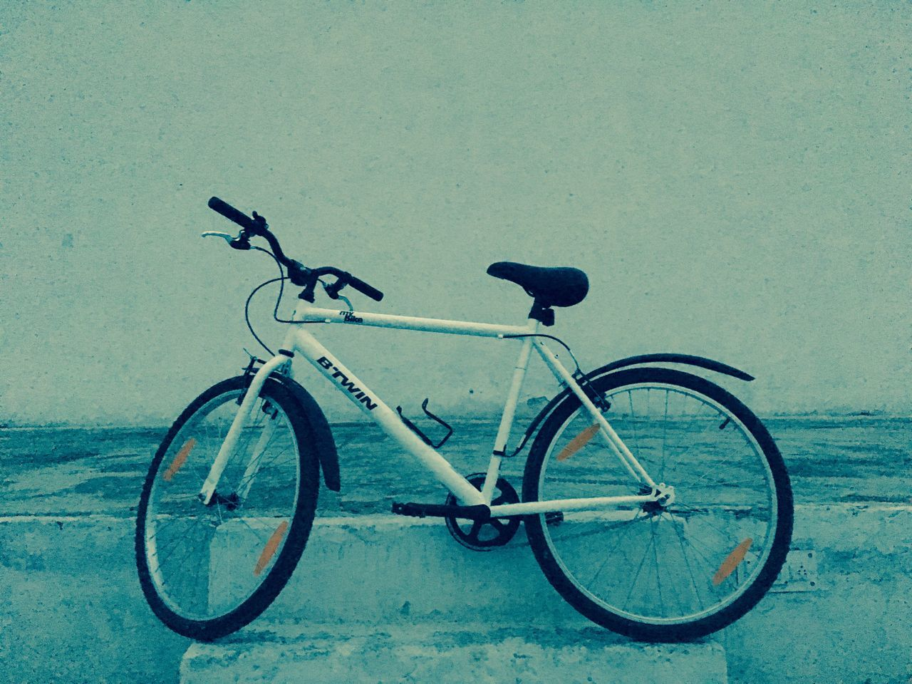 Bicycle Transportation Mode Of Transport Stationary Land Vehicle No People Outdoors Day Bicycle Rack City Night IPhoneography Mobile Photography IPhone Photography Like4like Likes One Person Likeforfollow Follow4follow Followme Follow Likeforlike Like Sky Weather