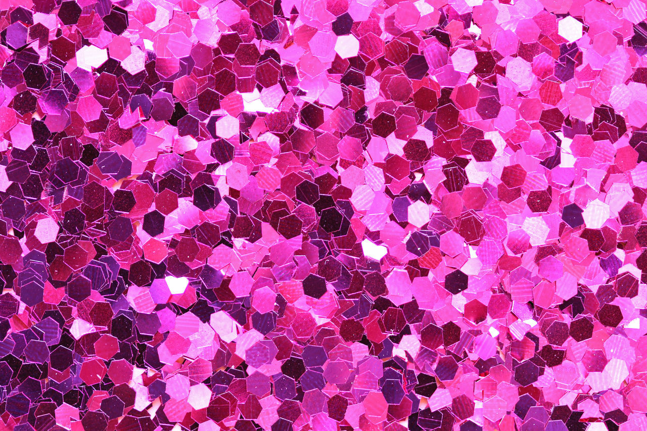backgrounds, purple, pink color, full frame, pattern, gemstone, abstract, textured, shiny, precious gem, no people, large group of objects, beauty, multi colored, luxury, glamour, close-up, day, outdoors
