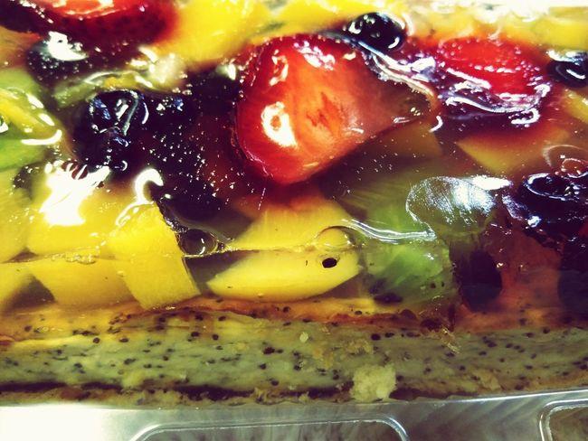 Тортик Еда вкусно клубника клубника❤️🍓 стол лето 2016😍 Hello World World пирог пирожное Adventure Club