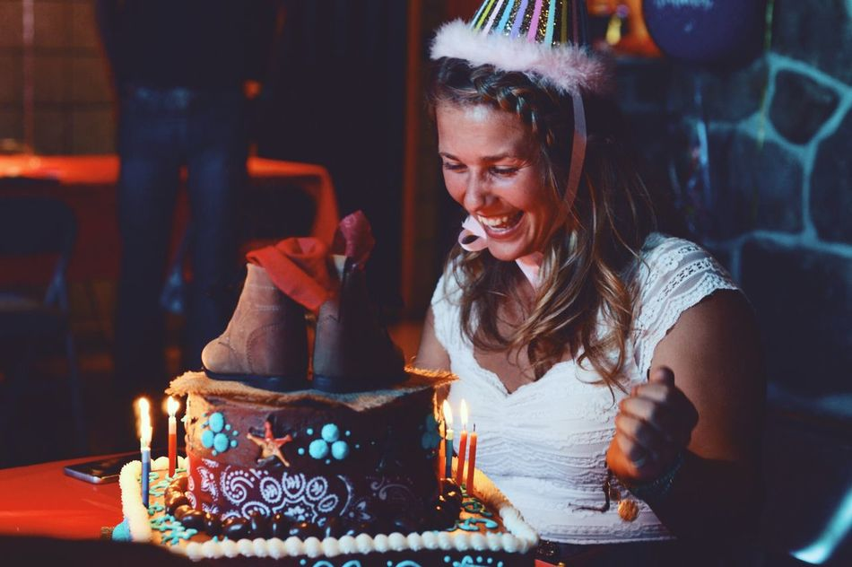 Beautiful stock photos of geburtstag, food and drink, restaurant, one person, young adult