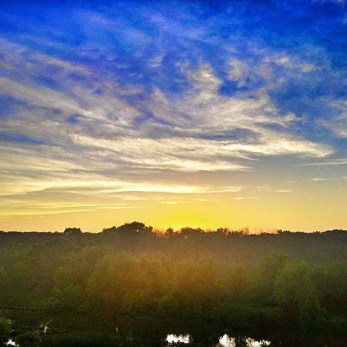 Sun setting in Michigan. Jehovahscreation Sunset