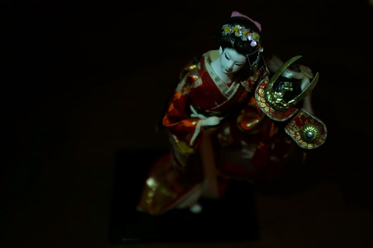 essay: what it looks like when a loved-one passes -- a series of photos taken during days after a close family member passed away Ambience Asian  Black Background Bokeh Close-up Contemplative Copy Space Focus On Foreground Hauntingly Beautiful Illuminated Japanese Culture Japanese Geisha Doll Moody Negative Space No People Selective Focus Sentimental Still Life Stillness Studio Shot Home Is Where The Art Is