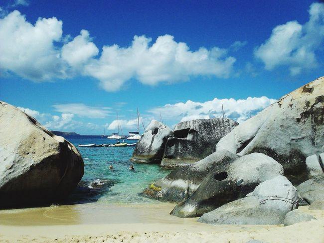 Virgin Gorda Caribbean Sea Virgin Islands Rocks Beach Photography
