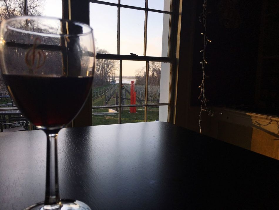 Wine tasting Check This Out Wine Wine Tasting Glass Window Vineyard Longisland NY Water Longislandsound Headoftheharbor PortJefferson