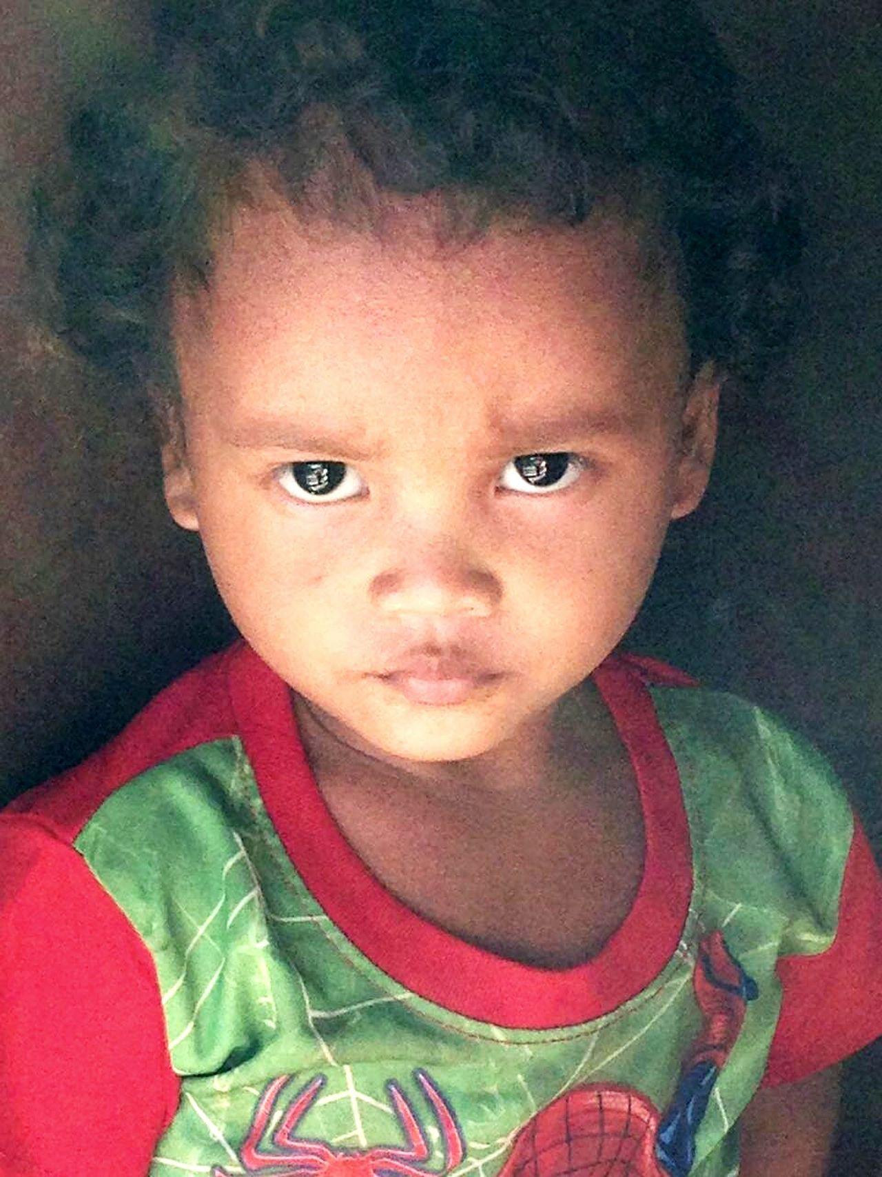 Malaysian aboriginal kid..