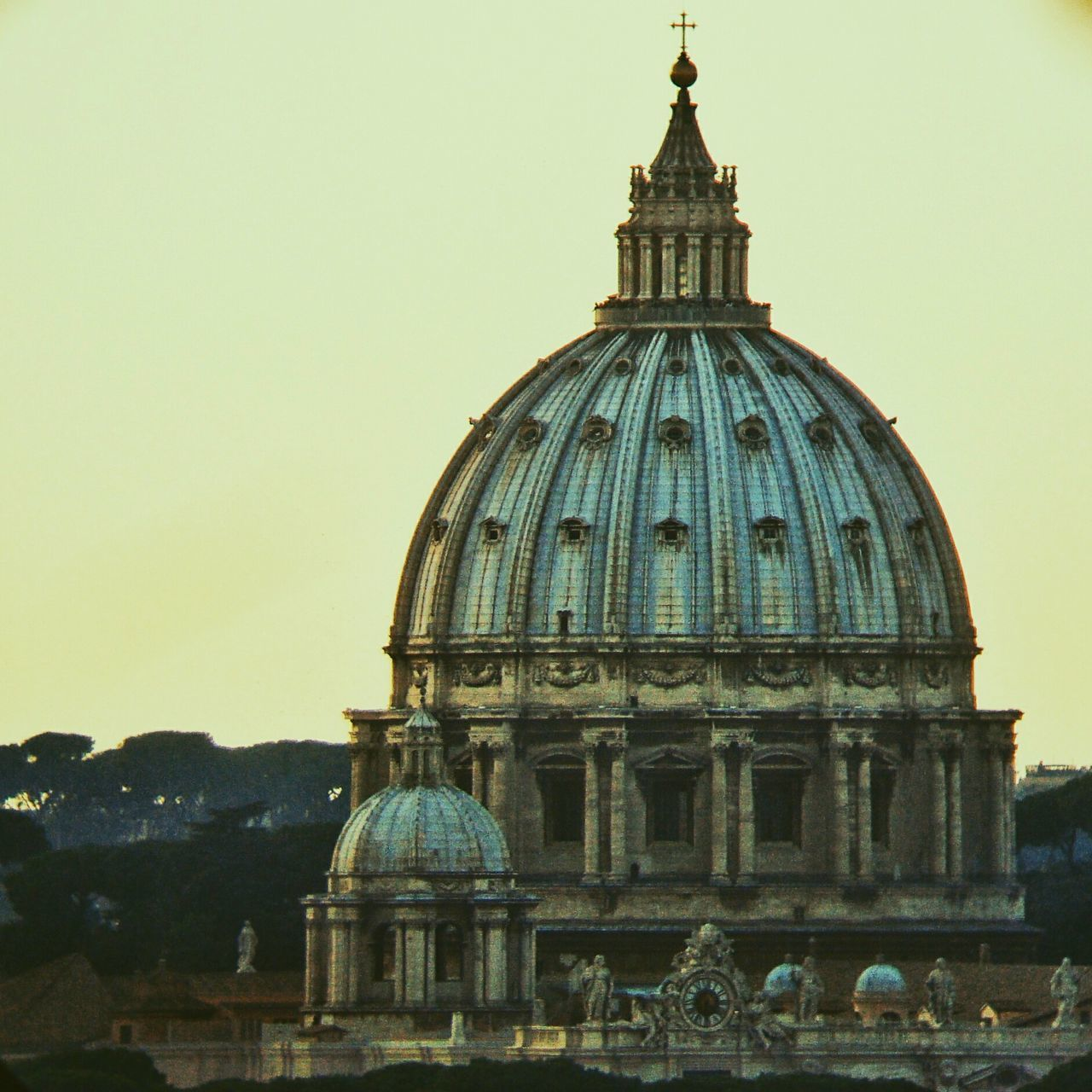 Architecture Built Structure Building Exterior Sky Dome Travel Destinations Sunset No People Day Vatican Vatican City Basilica Di San Pietro In Vaticano Italy Italia Europe Eurotrip Europe Trip Rome Roma Basilic Basilica
