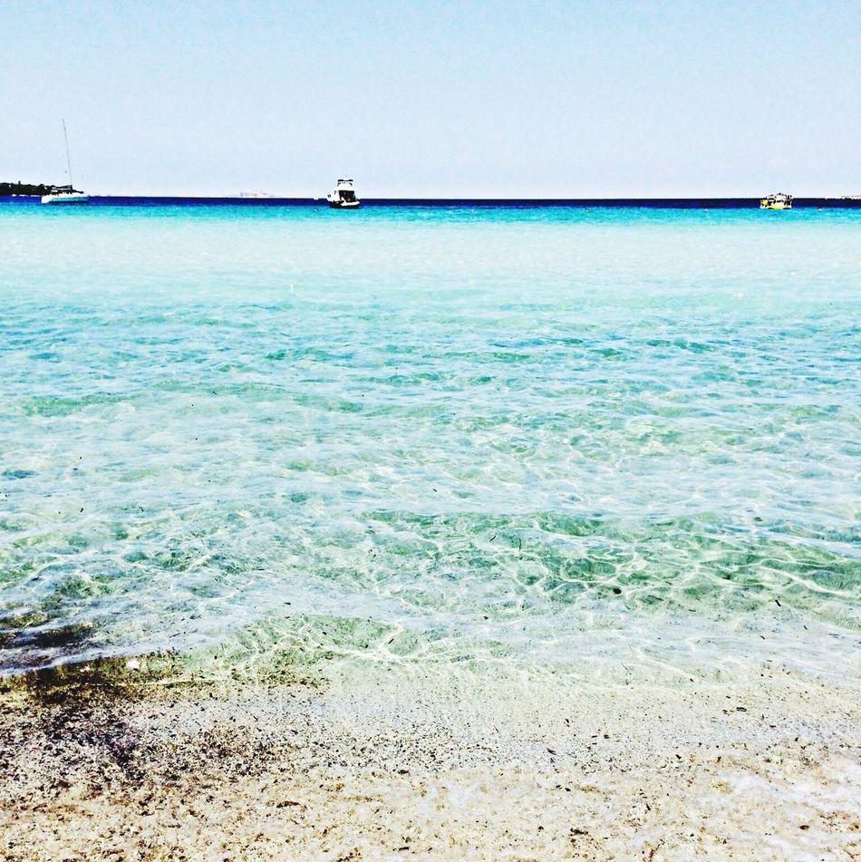 Crystal Water Sea Enjoying The Sun