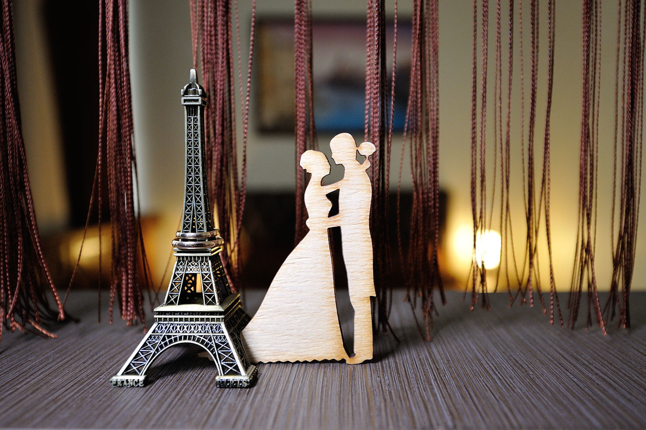 Beautiful stock photos of eiffel tower, Love, bride, couple, day