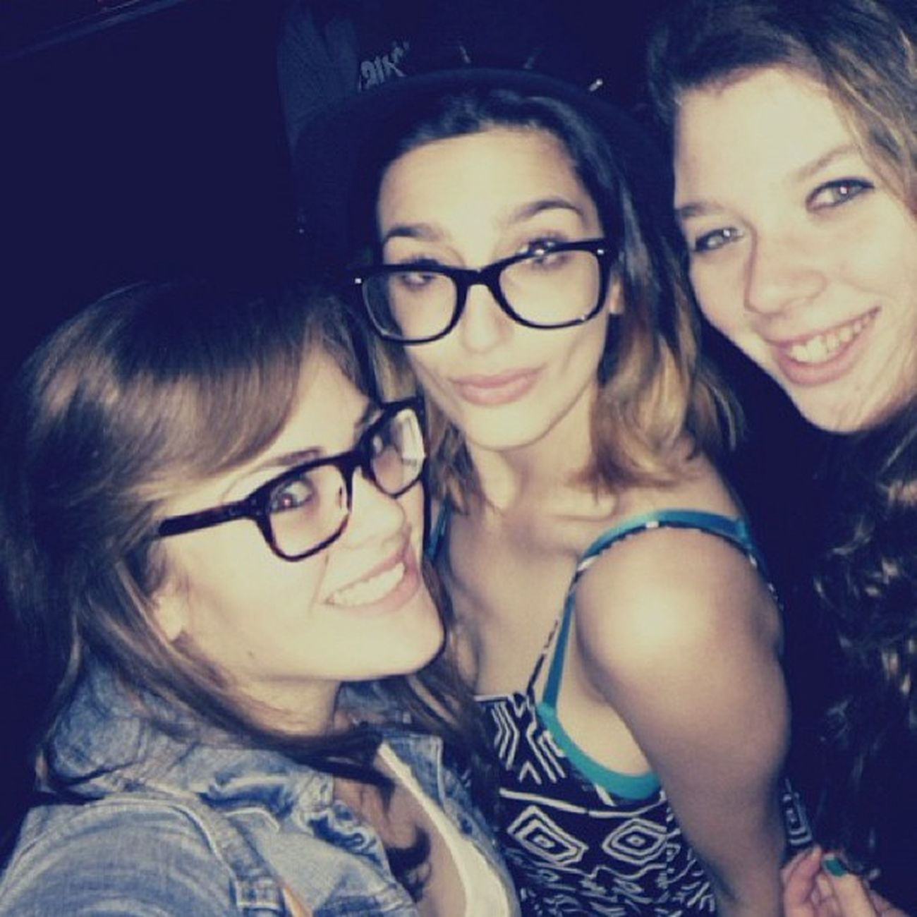 We hot. We know. <3 Concert Paradisefears Lovemygirlies @anniepaulina @giti
