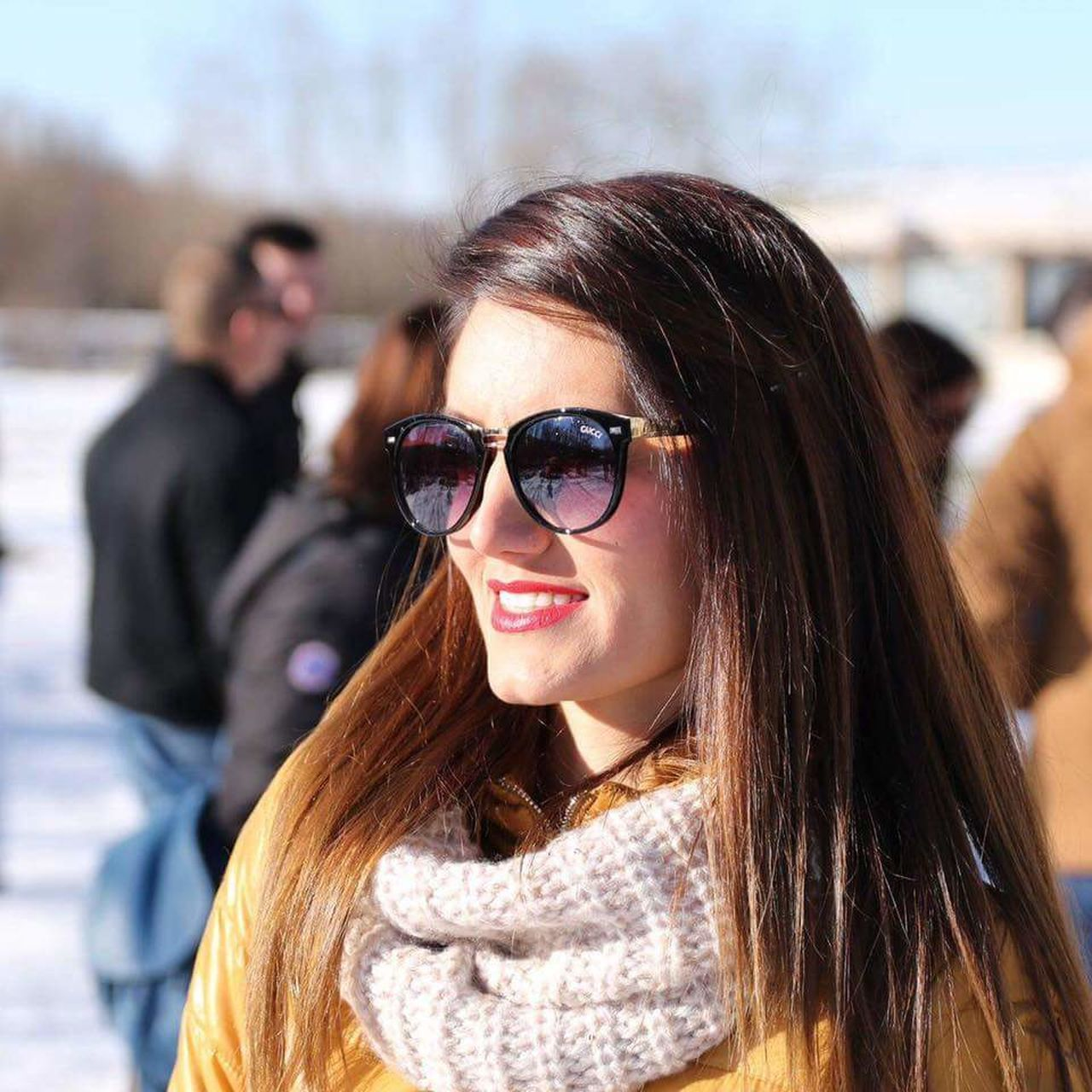 Not edited. First Eyeem Photo, Sunset Smile❤ Wife Beautiful Love ♥ No Edit/no Filter Winter Snow ❄ Castel Smile GUCCI Fashion Catalogue New Collection