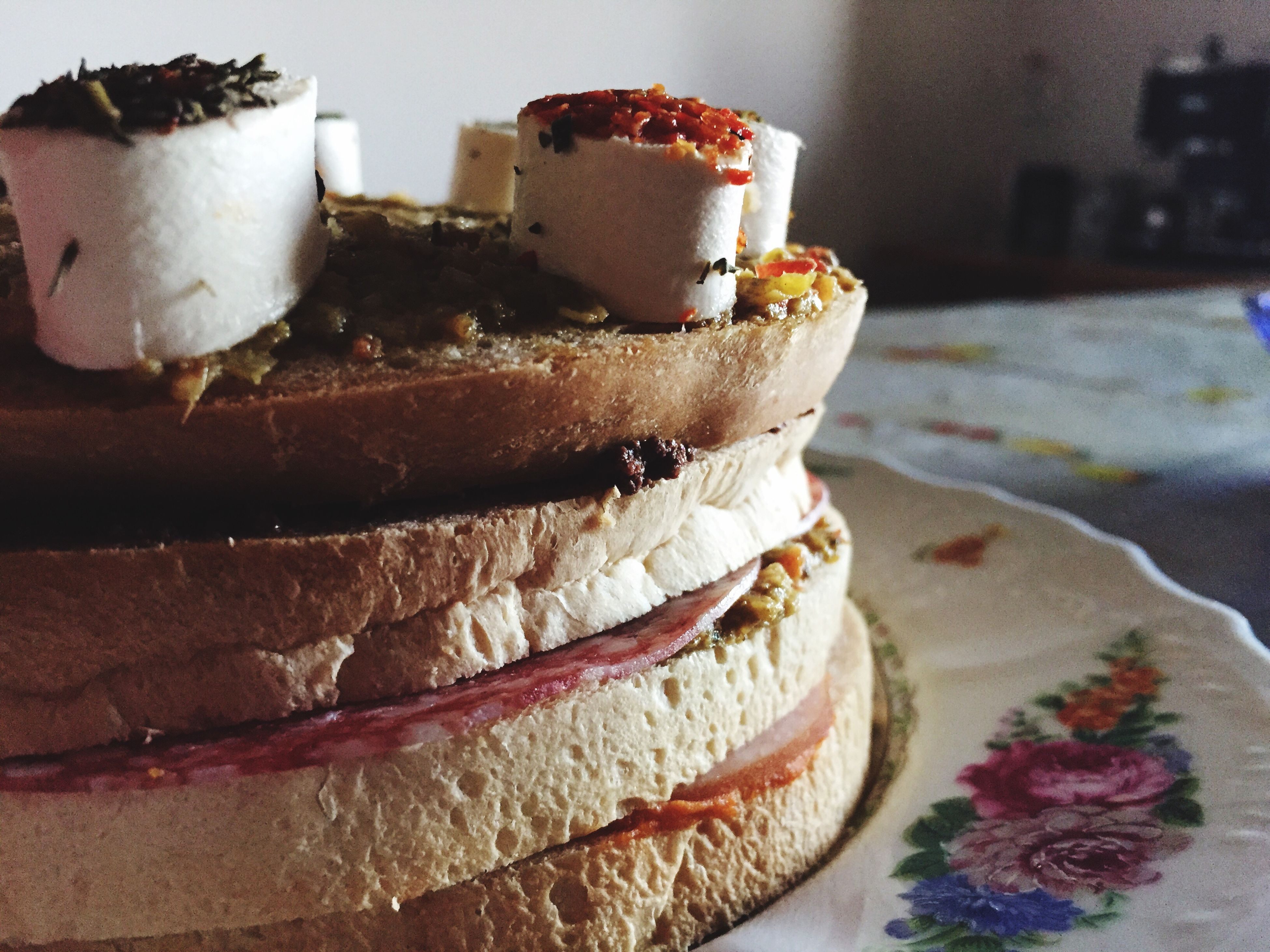 close-up, food, still life, focus on foreground, food and drink, indoors, sweet food, freshness, unhealthy eating, no people, dessert, indulgence, cake, table, ready-to-eat, stack, day, selective focus, in a row, plate