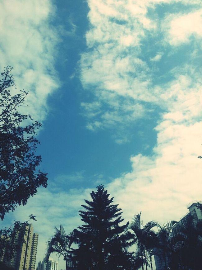 Blue Clouds Sky HongKong Bluesky