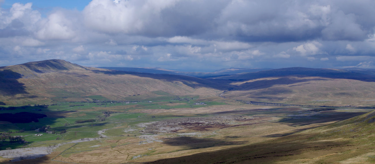 Aerial View Beauty In Nature Cloud - Sky Day England Growth Hiking Hills Idyllic Landscape Mountain Nature No People Outdoors Pasture Ribblehead Viaduct Road Scenics Travel Destinations Valley Whernside Wilderness Winding Road Yorkshire Yorkshire Dales