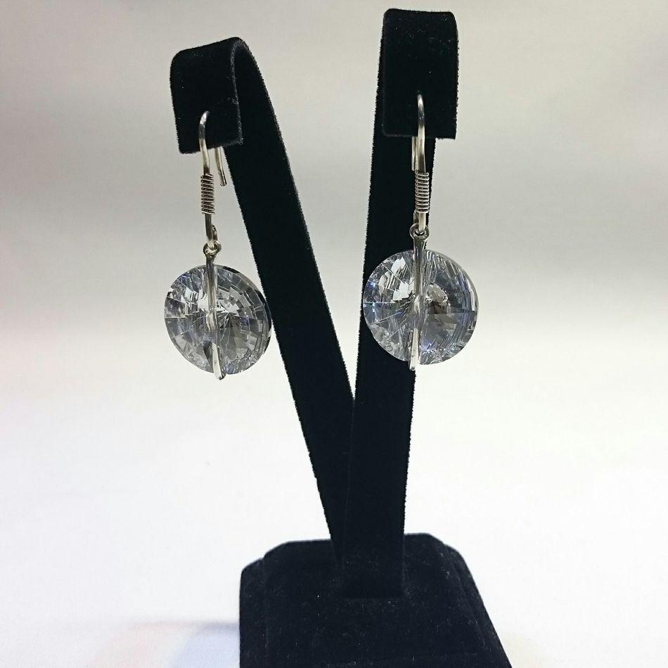 925 ayar gümüş kristal taşlı şık küpemizin fiyatı 20 TL Trends Gril Woman Silver  Handmade Jewellery Gümüş Küpe Elyapımı Personal Jewelry