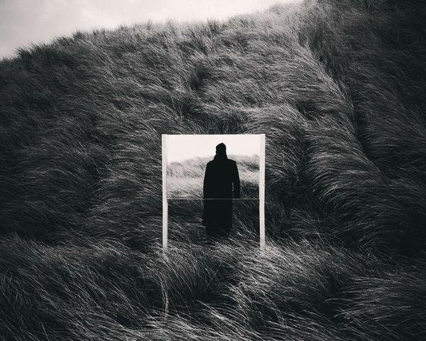 пустота девушка Одиночество черно-белое грусть