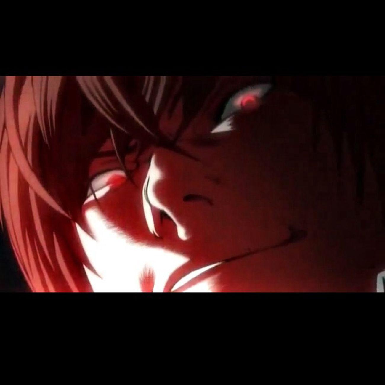 la reaction de Kira ! A la mort de L ❤ Death Note ️