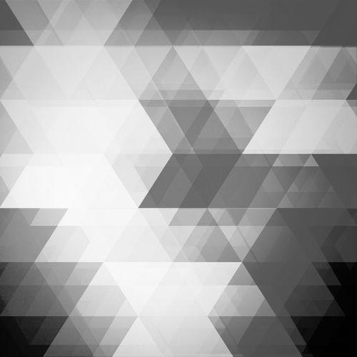 Traingles Geometric Urban Geometry Blackandwhite